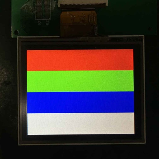 ENH-LM1348A01-1E 320X240 Dot Matrix LCD Modules Industrial specialized screen Touch screen