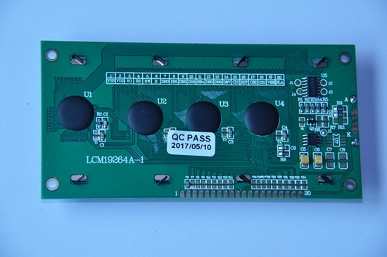 19264 Graphic COB module STN Yellow-Green PCB board MPU Interface for measuring instrument