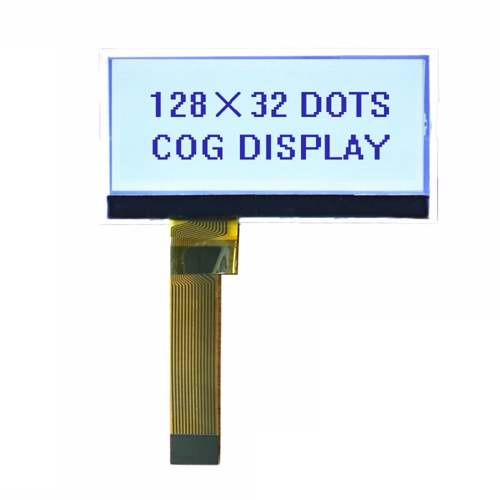128X32 COG Dot matrix LCD display module FSTN Transflective