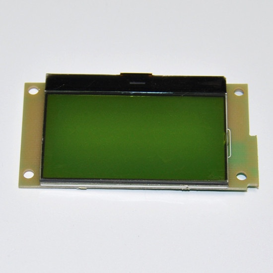 128X64 Graphic LCD STN Yellow-Green display module with PCB board