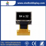0.49 Inch OLED small size OLED display module Resolution 64*32