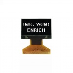 0.96 inch Monochrome OLED 128*64 OLED display module Small size OLED White background